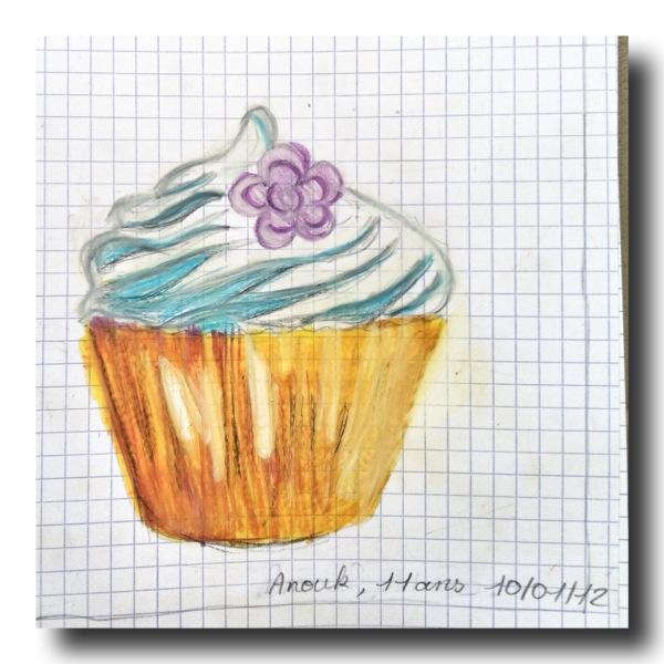Isabelle kessedjian les enfants de l 39 atelier dessinent - Dessin cupcake ...