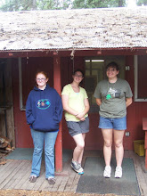 The girls who hosted camp, 2010!