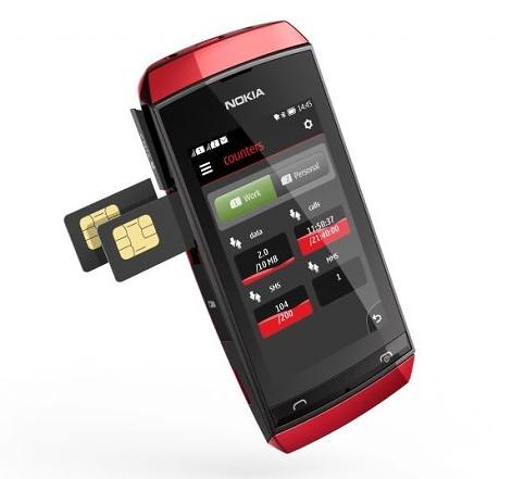 Nokia Asha 305 - Dual SIM Mobile Phone