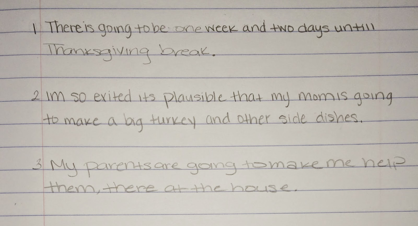 essay paragraph examples