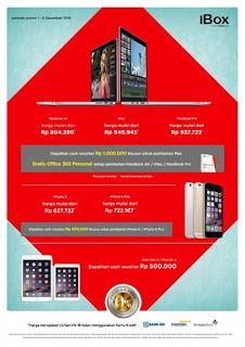 Cash Voucher Rp 500 ribu khusus untuk pembelian iPhone 6 dan iPhone 6 Plus