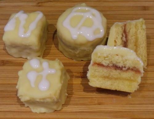 Almond Sponge Cake Recipe For Petit Fours