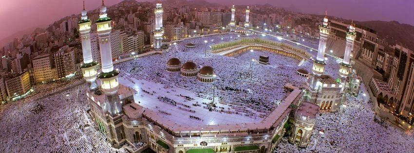 Une belle couverture facebool la Mecque