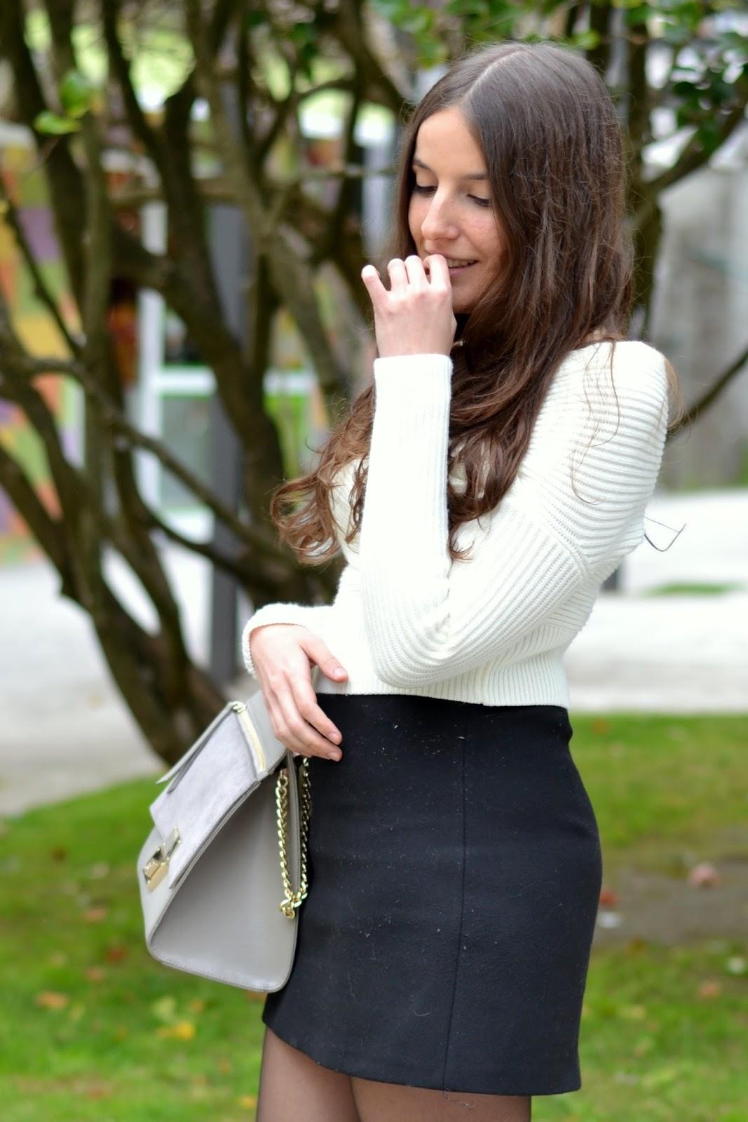 jersey sheinside blanco hombros