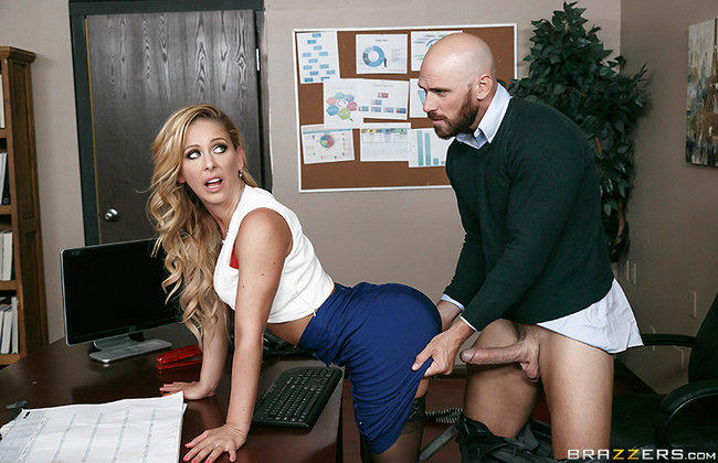 Big Tits At Work | Cherie Deville - My Wife's Boss