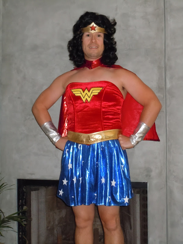 Jason's Wonder Woman Bay to Breakers outfit