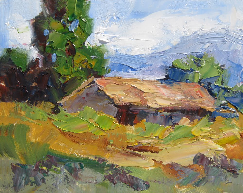 Palette Knife Painters AMERICANA PLEIN AIR PALETTE KNIFE