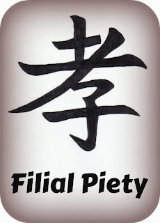 filial piety essay Chinese moral values such as virtue and filial piety embedded in a confucian moral and social context cannot be recast without distortion in terms of modern western european notions the essay concludes that the confucian resources must be taken seriously in order to develop an authentic chinese.