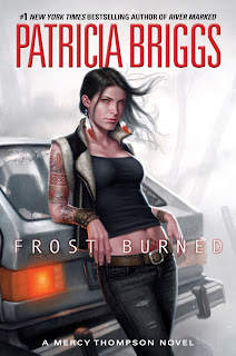 Book cover of Frost Burned by Patricia Briggs (Mercy Thompson #7)