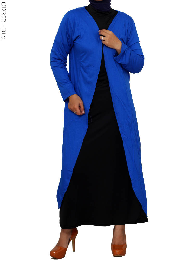 Model Cardigan Panjang Ukuran Besar Muslimah