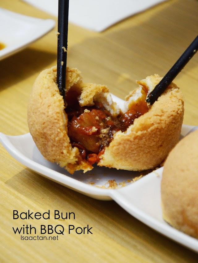 Baked Bun with BBQ Pork