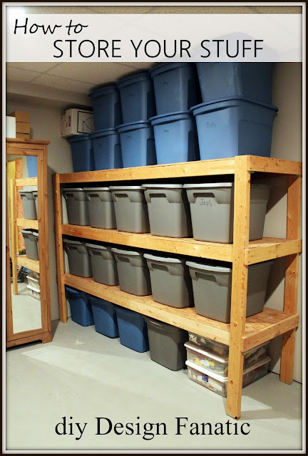 storage shelves,  basement storage, garage storage, diy