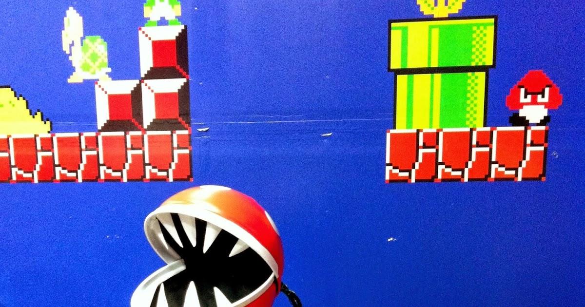 Crafty Trev: : Super Mario Bros Piranha Plant Sculpture