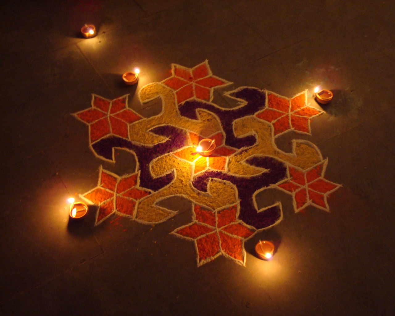 rangoli designs wallpaper stars - photo #43