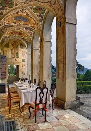 Palladio's Villa Emo Veneto,Italy as seen on linenandlavender.net