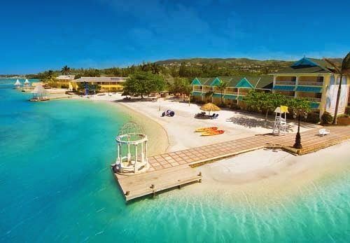 Beautiful honeymoon in Sandals Royal Caribbean