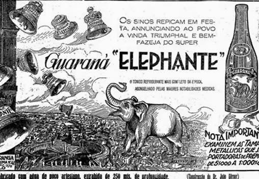 Propaganda do Refrigerante Elefante
