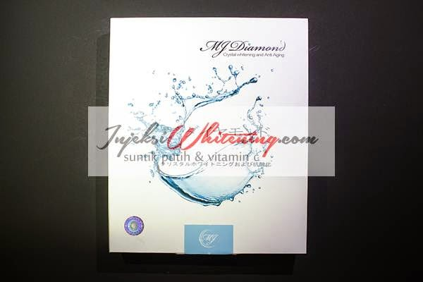 MJ Diamond Injection asli dan palsu