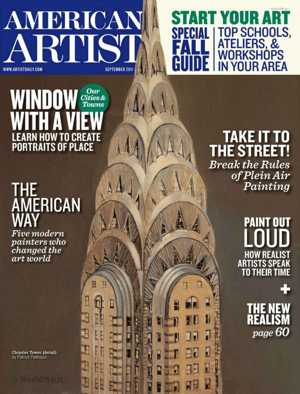 American Artist Magazine September 2011