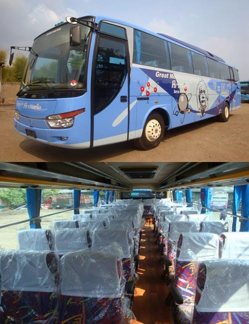 Armada Bus Pariwisata kami