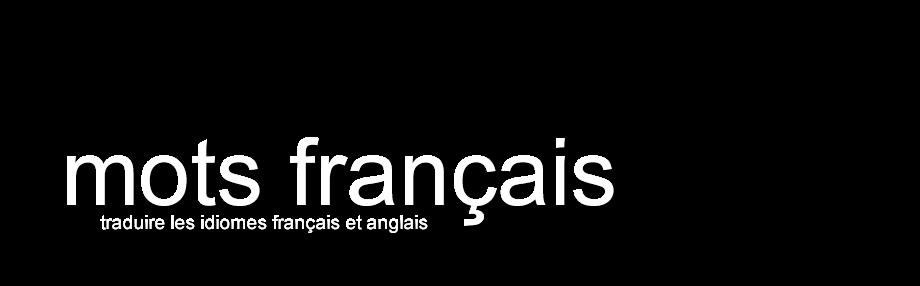 Mots Francais
