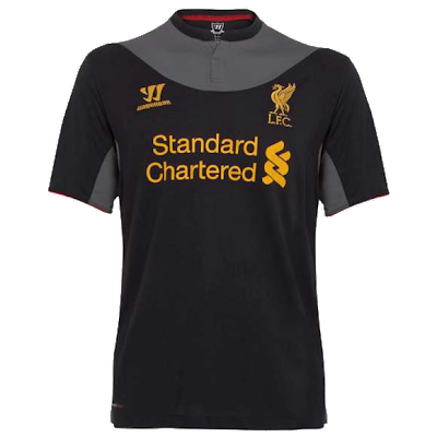 away kit Liverpool 2012/2013