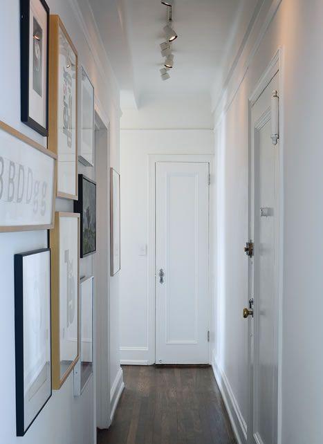 5 trucos infalibles para alegrar pasillos estrechos y for Mueble pasillo estrecho