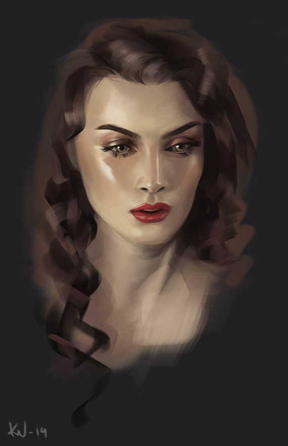 #sketch #portrait #woman #female #beautiful #painting #digital #face #lipstick #makeup