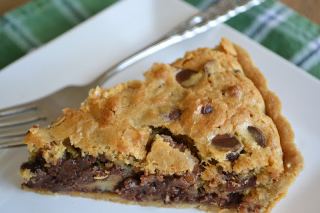 Oatmeal Chocolate Chip Cookie Tart - The View from Great Island
