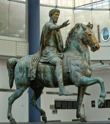 памятник Марку Аврелию в Риме