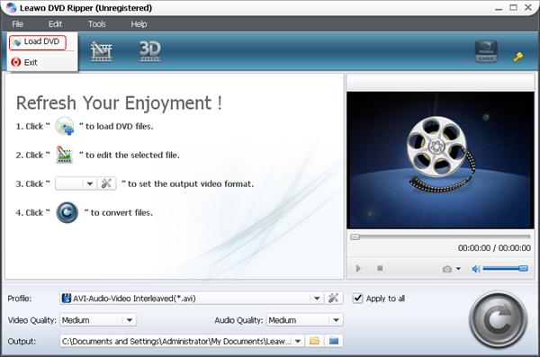 Import DVD