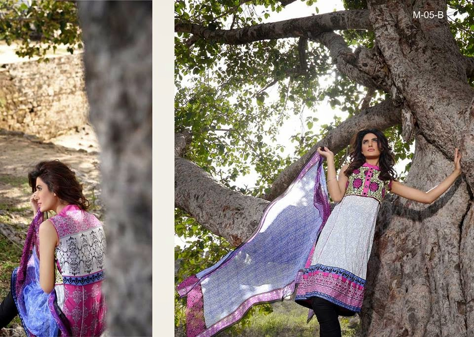 Latest mehdi lawn collection 2015