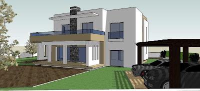 Plan maison tunisie architecture for Plan architecte villa moderne