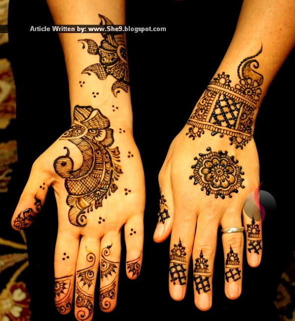 New Latest Mehndi Designs for Eid 2015