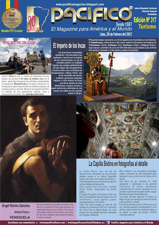 Revista Pacífico Nº 317 Turismo