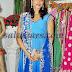 Eesha Koppikar in Blue Salwar