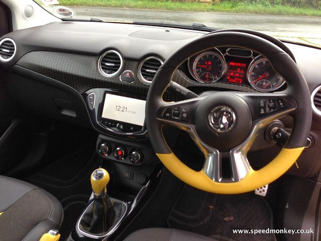 Vauxhall / Opel Adam interior