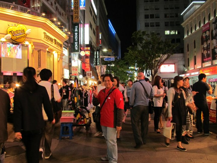 South Korea Seoul Myeongdong