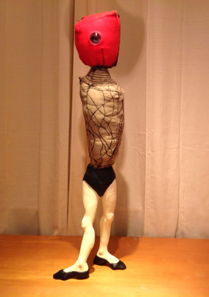 "florine after degas, 36"" high"