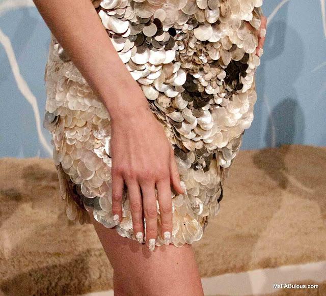 pearl caviar nail art