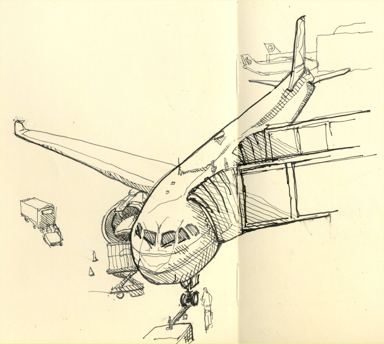 drawings of planes