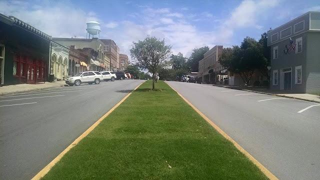Walking Dead shooting locations Senoia, GA