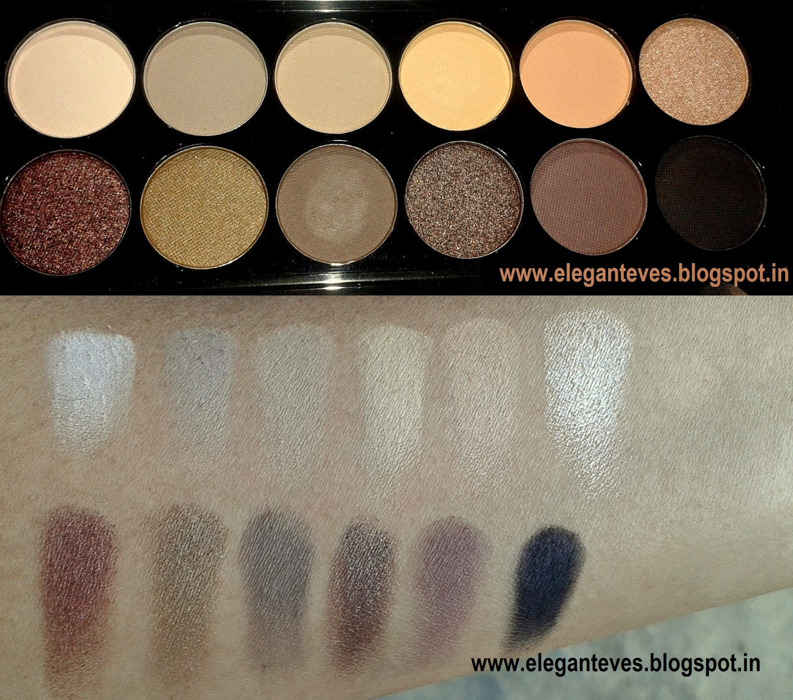 Sleek Makeup I-Divine Eye-shadow Palette #Au Naturel