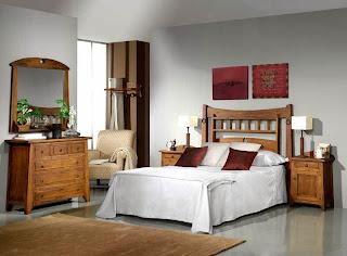 Dormitorio Completo Rustico 1 Lagar, dormitorio rustico