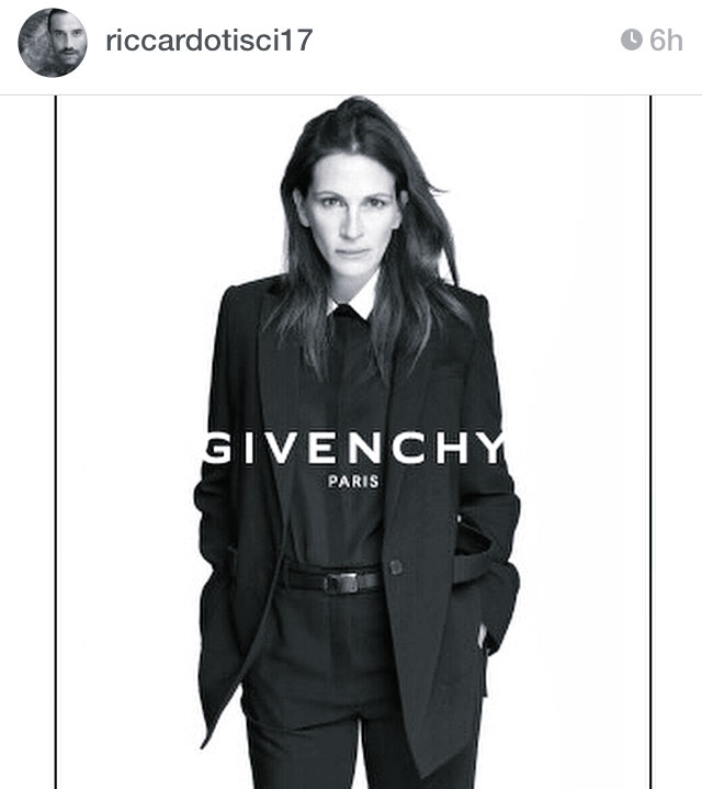 Julia Roberts is Givenchy's New Muse
