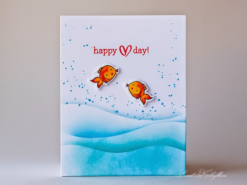 Greeting card with Mama Elephant Cosmic Stars by Sweet Kobylkin