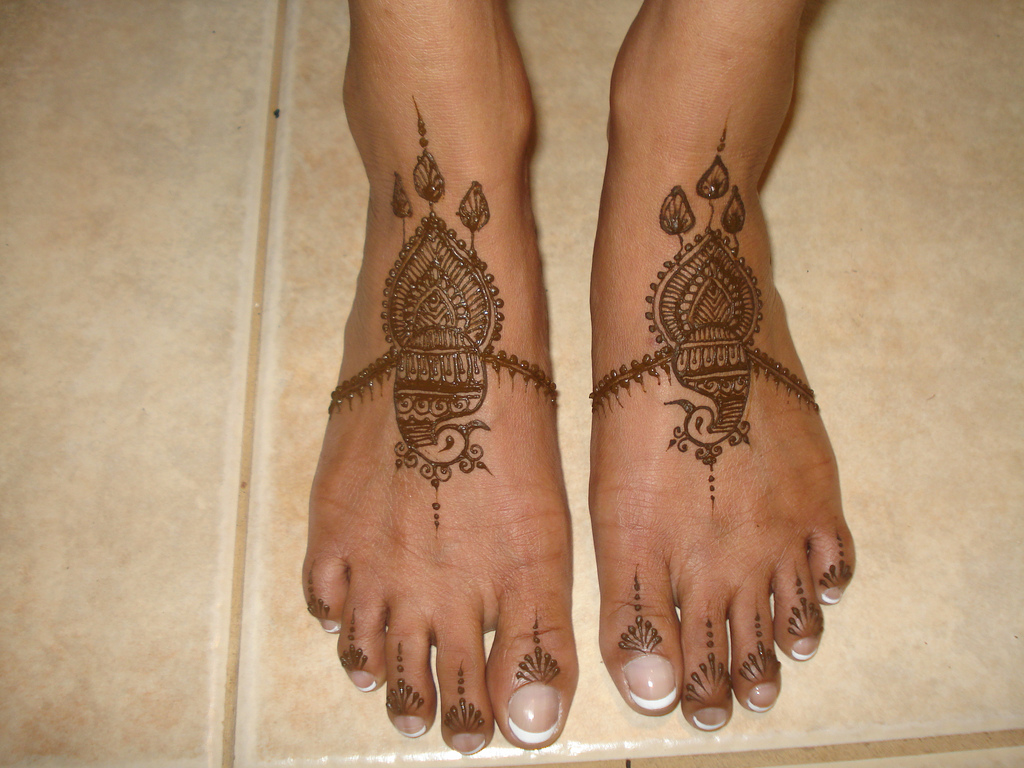 Feet Mehndi Design Pic : Foot mehndi designs all about