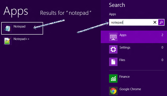 search+for+notepad
