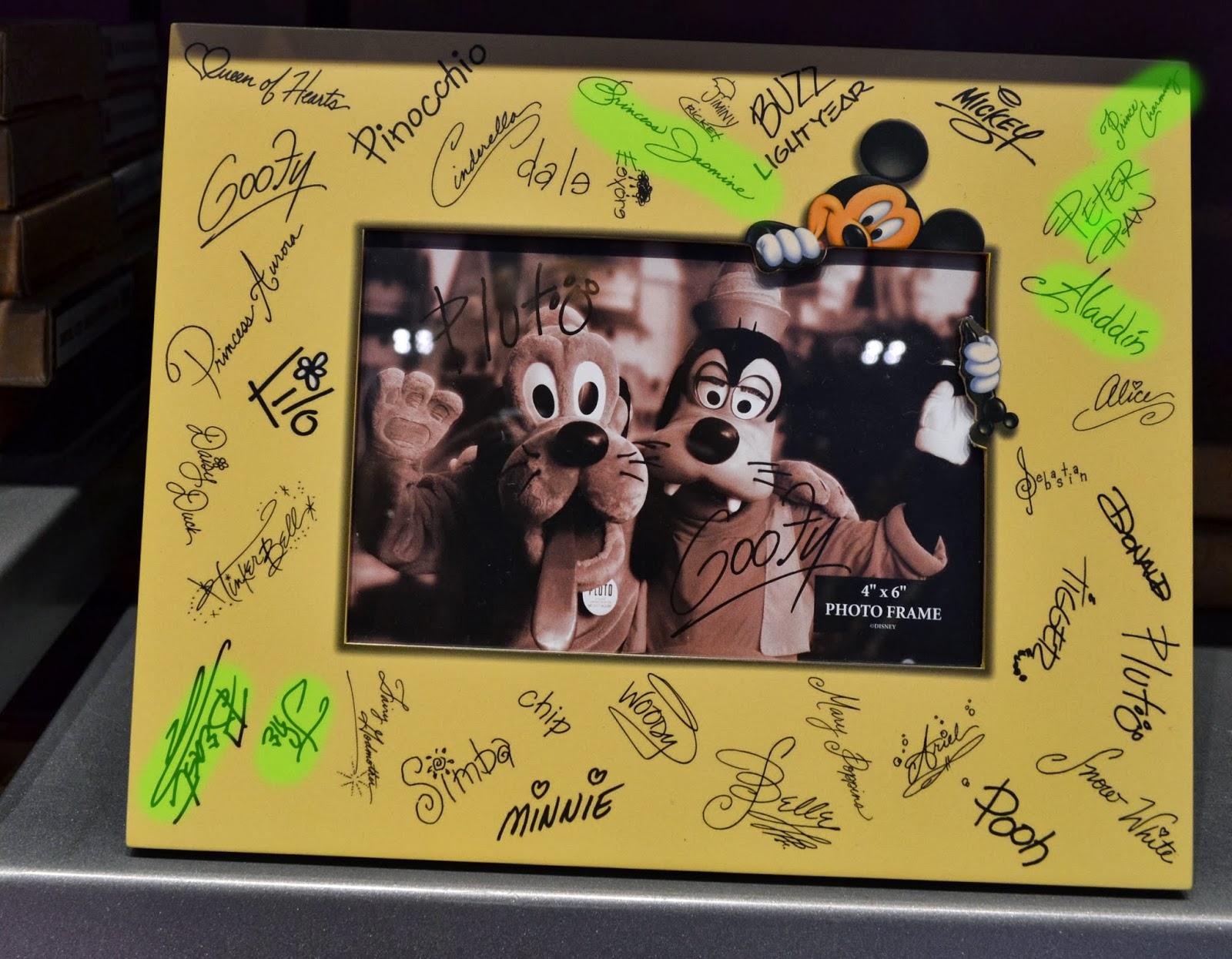 Increíble Autograph Picture Frames Composición - Ideas ...