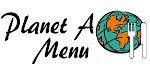 Planet A Menu